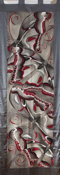 Tkanina Ręcznie Malowana - 006 (1)