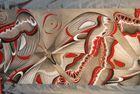 Tkanina Ręcznie Malowana - 006 (2)